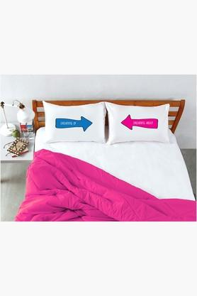 STOA PARIS White Dreaming Pillow Talk Bed Linen (Bedsheet Set (King)
