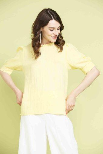 GIPSY -  YellowTops & Blouses - Main