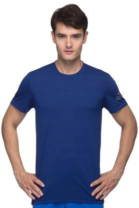 ADIDAS Mens Round Neck Solid T-Shirt - 201142765