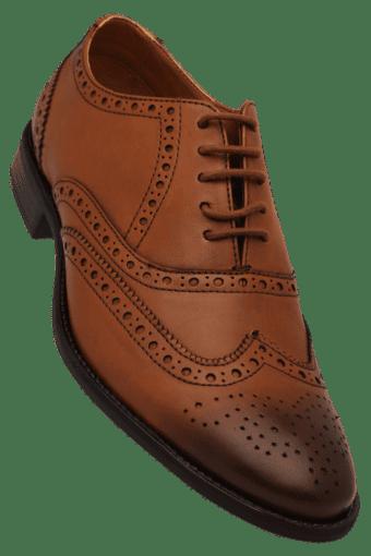 ALLEN SOLLY -  BrownFormal Shoes - Main