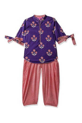 BIBA GIRLS -  PurpleIndianwear - Main