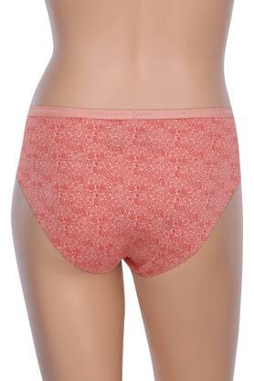 Womens Printed Hipster Briefs - Pack Of 2