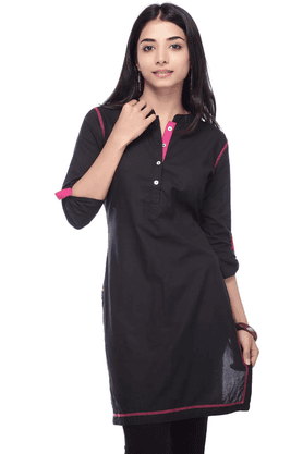 STOP Women Cotton Kurta - 9685874