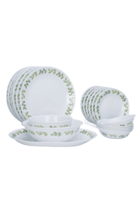 CORELLE Neo Leaf (Set Of 21) - Dinner Set