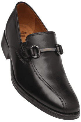CLARKS Mens Leather Slipon Smart Formal Shoe