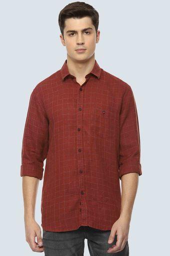 LOUIS PHILIPPE SPORTS -  MaroonCasual Shirts - Main