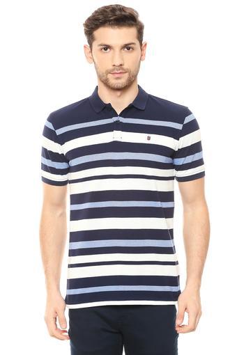 LOUIS PHILIPPE SPORTS -  BlueT-Shirts & Polos - Main