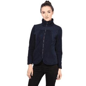 THE VANCAWomen Polar Fleece Jacket In Blue Color - 200335771