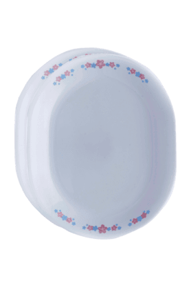 CORELLE Oval Serving Platter (Set Of 2) - Melody