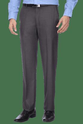 LOUIS PHILIPPEMens Flat Front Slim Fit Solid Trouser - 9428406