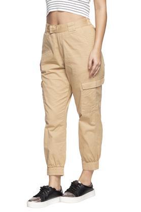 Womens 4 Pocket Solid Flash Pants
