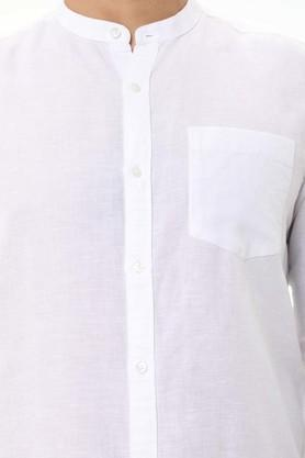 LIFE - WhiteCasual Shirts - 4