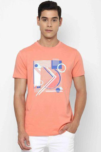 ALLEN SOLLY JEANS -  PinkT-Shirts & Polos - Main