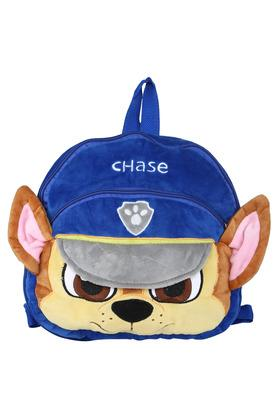 Unisex 2 Compartment Zip Closure Chase Character Face Backpack