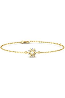 SPARKLESHis & Her Collection 92 Kt Diamond Bracelets In 925 Sterling Silver Diamond HHRK10905-92KT