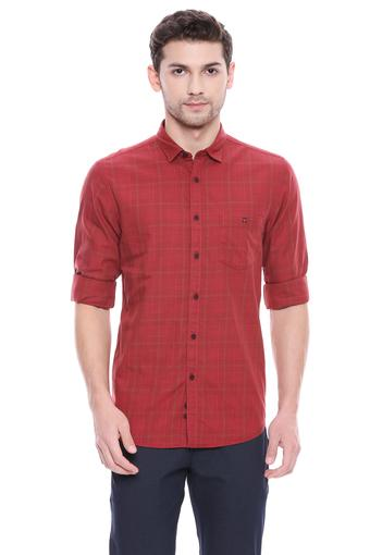 LOUIS PHILIPPE JEANS -  RedShirts - Main