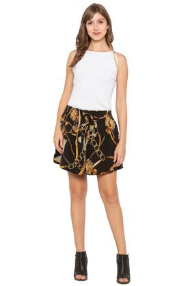 Womens Printed Skirt