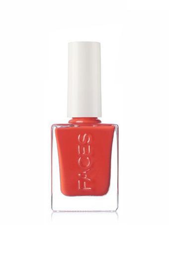 FACES -  Red Coral 214Nail Polish - Main