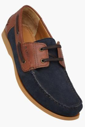 RUOSH Mens Suede Lace Up Boat Shoes  ...