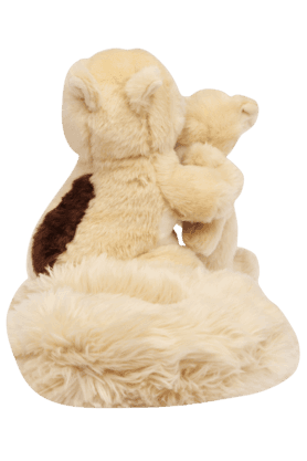 Girls Squirrel with Baby Soft Toy