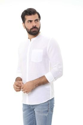 LIFE - WhiteCasual Shirts - 2
