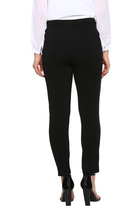 ALLEN SOLLY - Black Trousers & Pants - 1