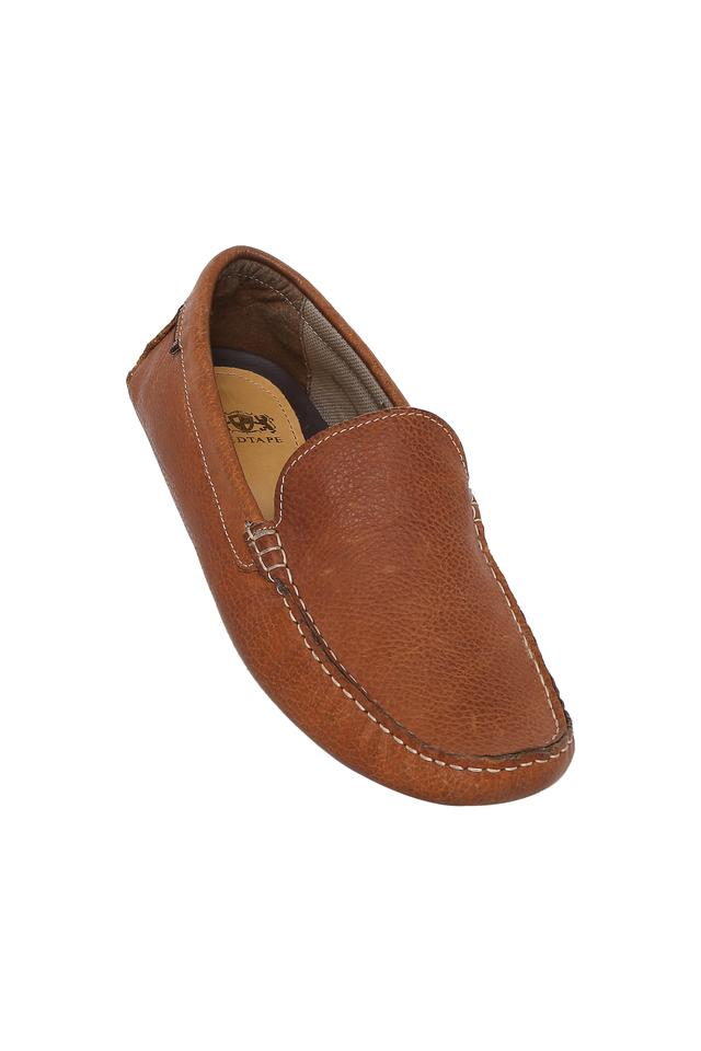 Mens Leather Slipon Casual Shoes
