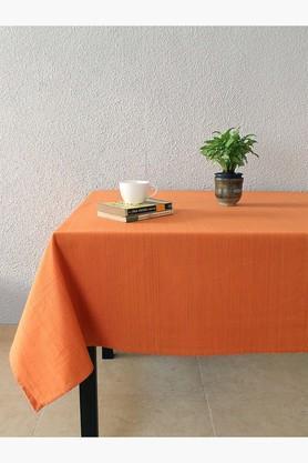Frida Sombre 100% Cotton Table Cover - Orange