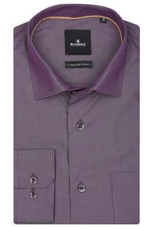 Blackberrys Mens Cotton Full Sleeves Regular Fit Formal Solid Shirt