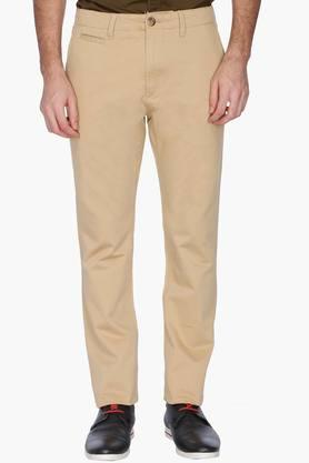 U.S. POLO ASSN. Mens Slim Fit Solid Casual Chinos - 201262000