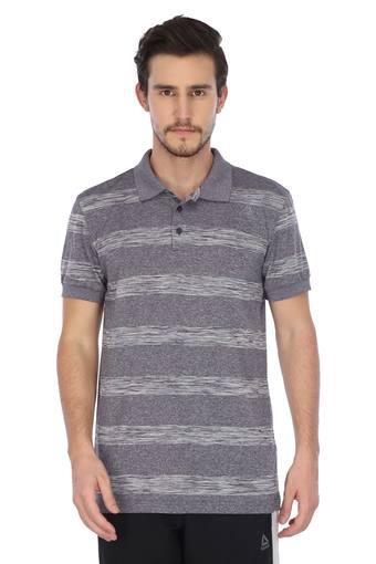 REEBOK -  Grey MelangeSportswear - Main
