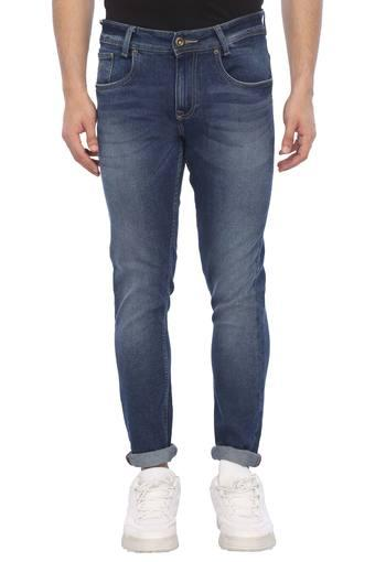 MUFTI -  Blue Mix Dark Jeans - Main