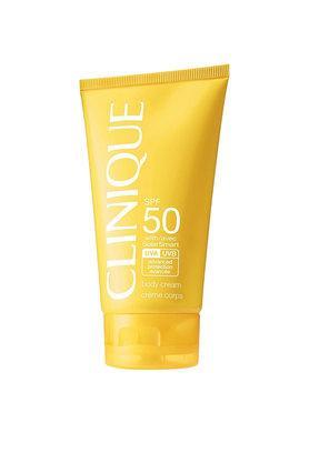 CLINIQUEBroad Spectrum Spf 50 Sunscreen Body Cream 150 Ml