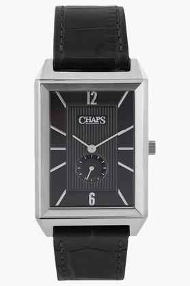 CHAPS Mens Analogue Reversible Strap Leather Watch - CHP5009