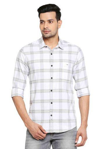 MUFTI -  WhiteCasual Shirts - Main