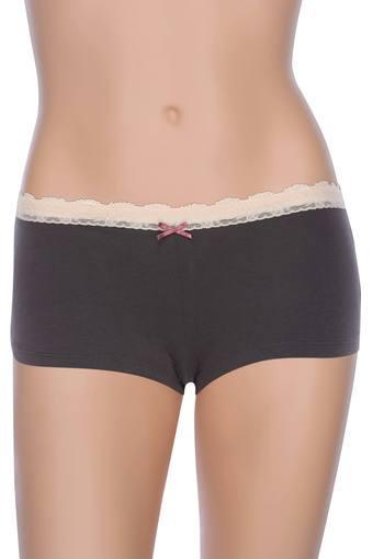 Womens Slub Boy Shorts Briefs Set of 7