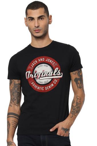 JACK AND JONES -  BlackT-shirts - Main