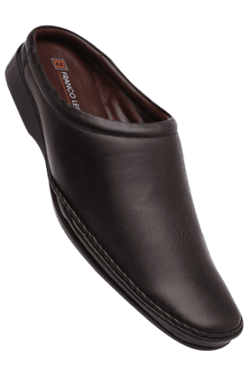 FRANCO LEONE Mens Leather Slipon Smart Formal Shoe