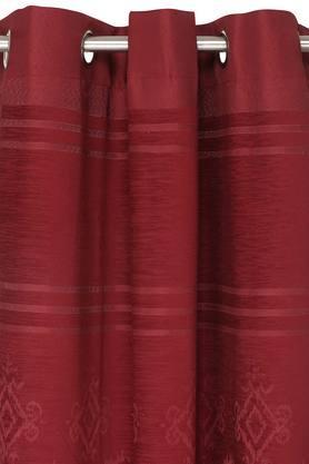 Printed Eyelet Door Curtains