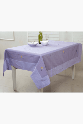 MASPAR Pretty Daisy Purple 8 Seater Table Cover