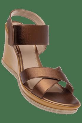 CATWALKWomens Bronze Wedge Sandal