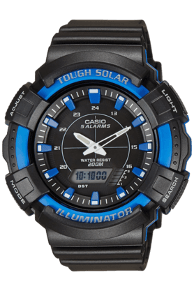 CASIO Unisex Analogue-Digital Watch-AD187