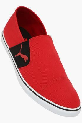 PUMA Mens Canvas Slip On Loafers  ...