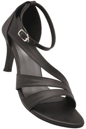 LIFEWomens Casual Ankle Buckle Closure Heel Sandal (Use Code FB15 To Get 15% Off On Purchase Of Rs.1200)