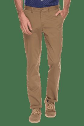BLACKBERRYSMens Slim Fit Solid Chinos - 200889321