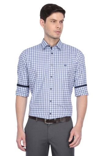 C131 -  Mid Blue Casual Shirts - Main