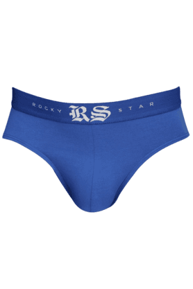 RS BY ROCKY STAR Mens Skinny Fit Solid Briefs - 9704178