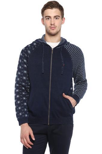 LOUIS PHILIPPE JEANS -  Mid BlueWinterwear - Main