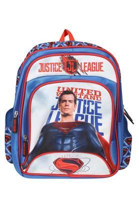 Unisex 3 Compartment Zip Closure Justice League Backpack
