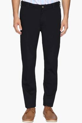 ARROW SPORTMens Chrysler Fit 4 Pocket Solid Trousers